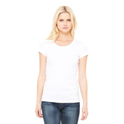 BELLA BABY RIB SCOOP NECK T