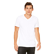 CANVAS UNISEX V-NECK T-SHIRT