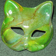 How To: The Malachite Cat Mask