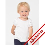 Infant Baby Rib S/S Lap T-Shirt