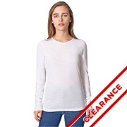 Sheer Jersey Long Sleeve T-Shirt