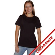 Ladies Jersey Scoop Neck T-shirt Clearance Inventory