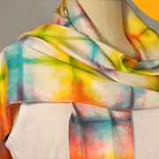 Shibori Spring Fling ColorHue Scarves - A Dharma Featured Tutorial