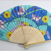 Elegant Silk Fan with FabricMate Markers A Tutorial