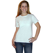 Hanes Women's Low Crew Neck T-shirt