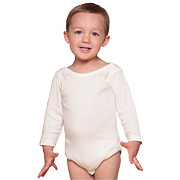 Organic/Fair Trade Infant One-Piece - Long Sleeve