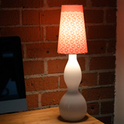 Lace Lampshade with Inkodye - A Tutorial