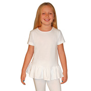 Toddler Girls Ruffle Tee