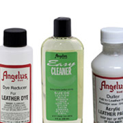 Leather Cleaners, Preparers, Finishes and Adhesives