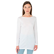 Sheer Rib Boatneck Tunic