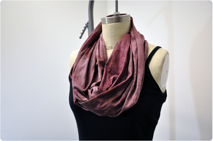 Bread Bag Dyed Scarf