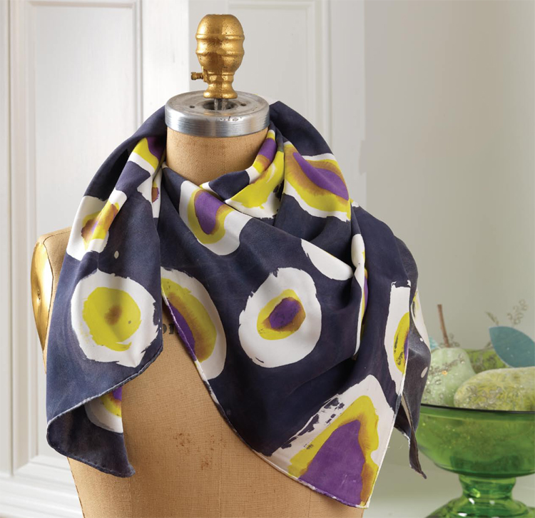 Silk Batik Scarf Tutorial