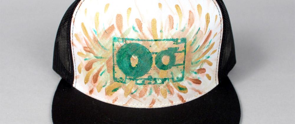 bdeacc8fbf6 Custom Painted Trucker Hats