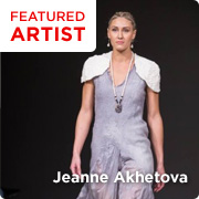 Jeanne Akhetova: Featured Artist