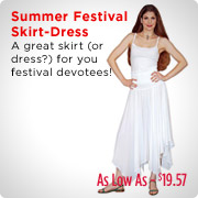 Summer Festival Skirt Dress