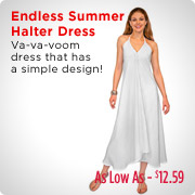 Endless Summer Halter Dress