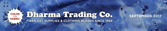 Dharma Trading Co. September 2017 Newsletter